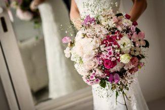Groot bruidsboeket