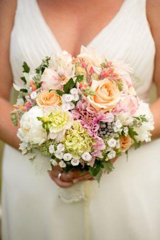 Wonderful in shades of blush & pink